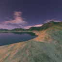 Click to view Inlet Dusk - an environment map by Crinity