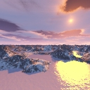Click to view Winter - an environment map by Thori